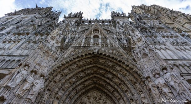 Rouen Cathedral | Rouen Day Trip | Train Paris Rouen