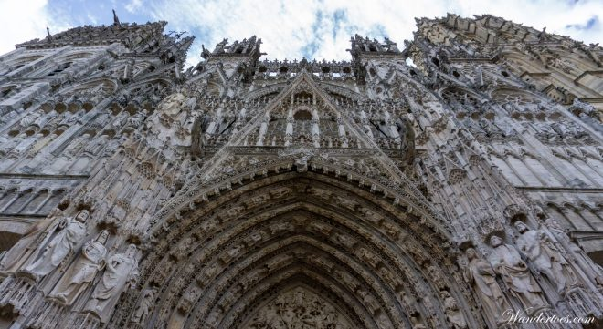 Rouen Cathedral | Rouen Day Trip | Train Paris Rouen