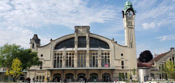 Gare Rouen Rive Droite | Train Paris Rouen | Rouen Day Trip |