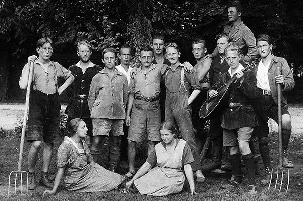 Artamanen vers 1920