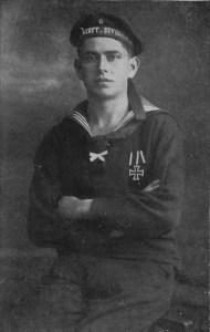 Hans Paasche dans son uniforme de marin