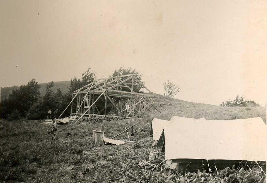 1938 - Construction de l'auberge de jeunesse de la Planche des Belles Filles - Alain Jacquot-Boileau