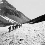 Ecole Montalembert - Limoges. 1931-1932 - Les Scouts dans la Montagne. Dans les Alpes. Ascencion du Gauléon.