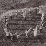 Hohen Meißner - 1913 - Danse sur la colline - Cette fête de la jeunesse fut accompagnee de nombreuses danses, chants et pièces de théatre. Image: Archiv der deutschen Jugendbewegung, Burg Ludwigstein