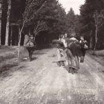 """Hohen Meißner - 1913 - Quelques 3000 jeunes venant de toute l'Allemagne font le """"pélerinage"""". Image: Archiv der deutschen Jugendbewegung, Burg Ludwigstein"""