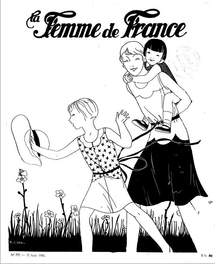 La femme de France - 1930 - Les Wandervögel