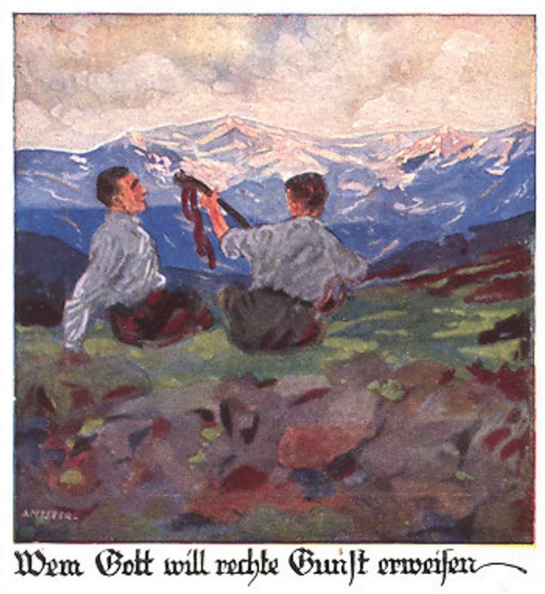 Otto-Amtsberg-Épisode de la vie d'un fainéant