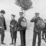 Wandervögel lors d'une randonnée vers 1900