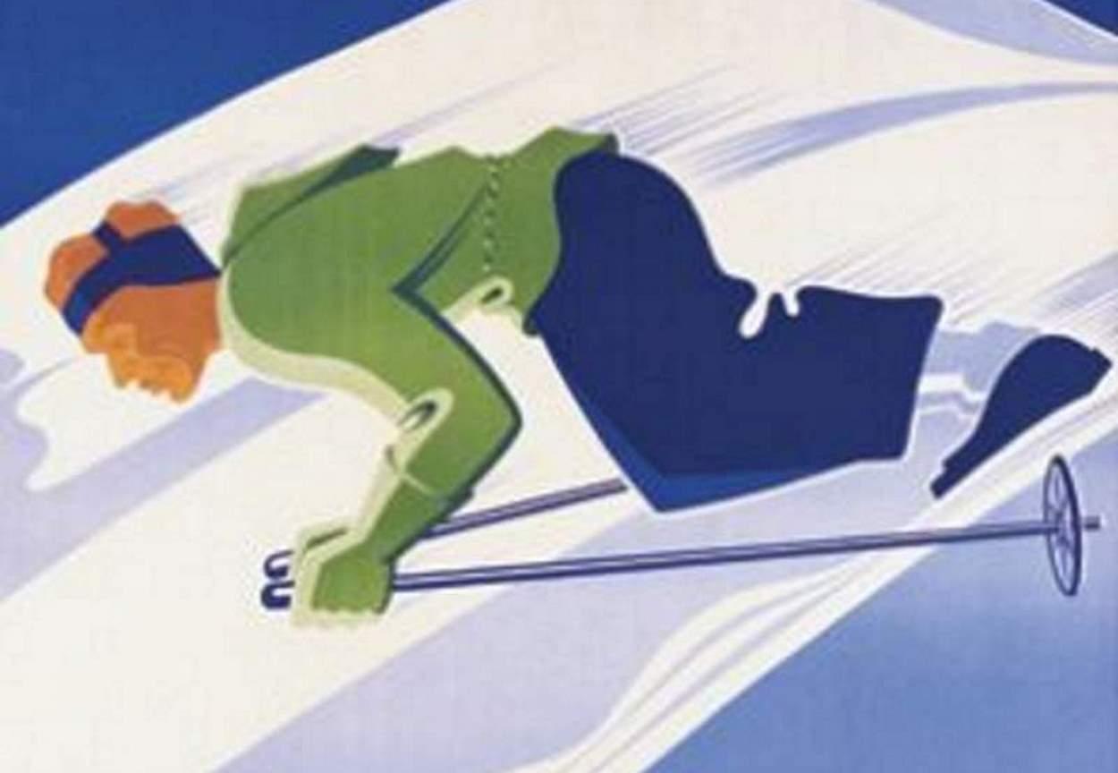 Championnats Jeunesse et Montagne, l'Alpe d'Huez mars 1942