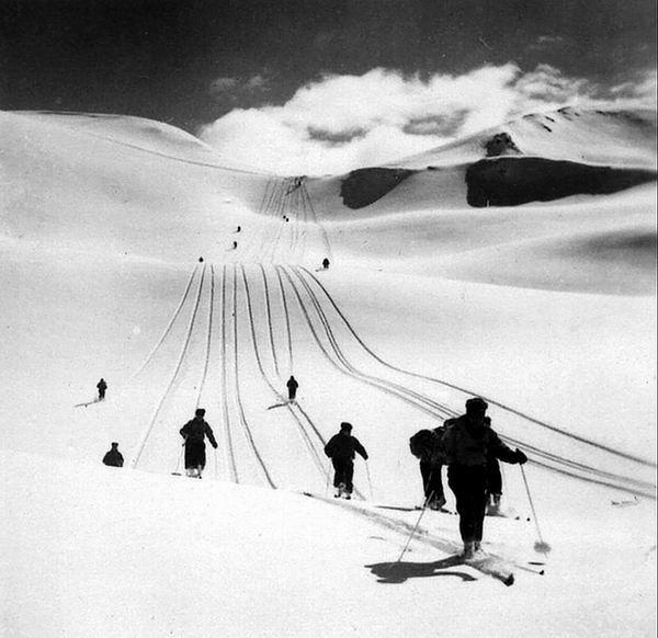 Collection JMOllivier - Raid Jeunesse et Montagne Urdos-Luchon de 1942