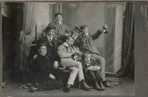 Walter Flex et ses amis étudiants de sa corporation