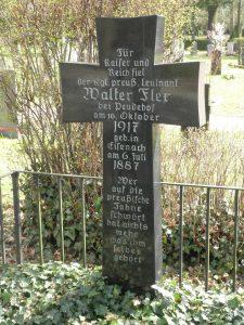 Tombe symbolique de Walter à Eisenach