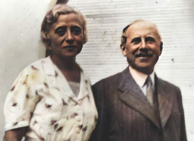Cécile et Paul Grunebaum-Ballin par Pierre Jamet