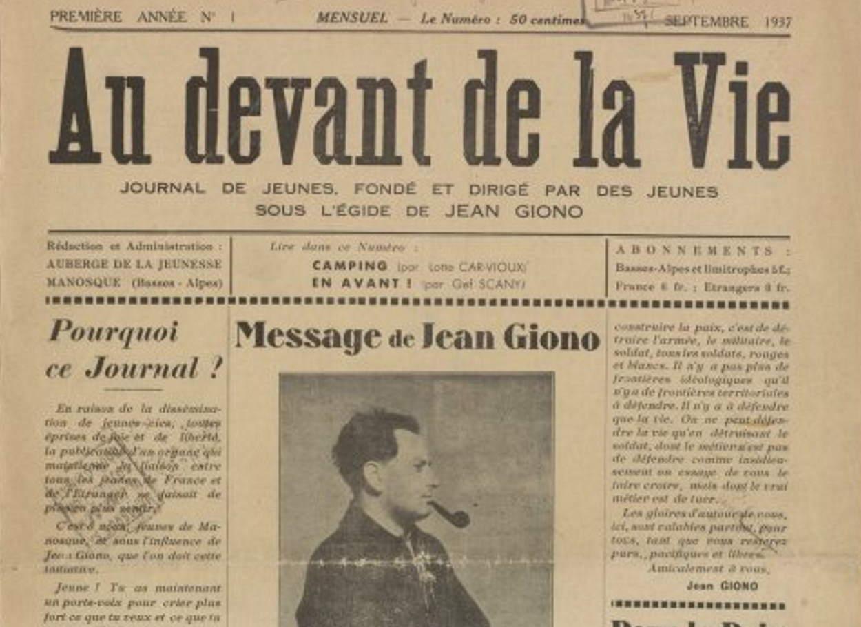 1937-09-01_Au devant d ela vie_1_couverture_wandervogel