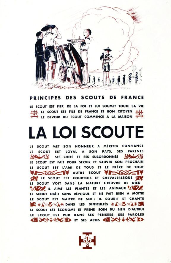 La loi scoute de Baden-Powell