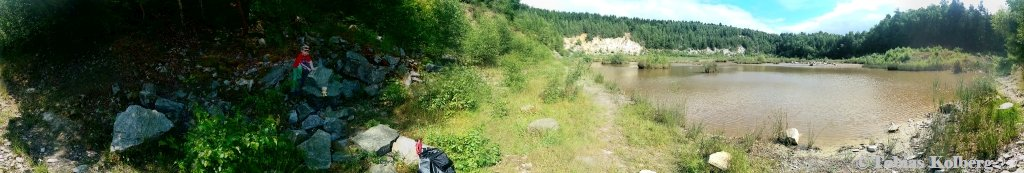 Panorama vom Steinbruch