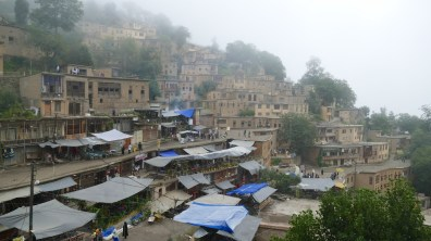 Masuleh: the roofs are also the pavements