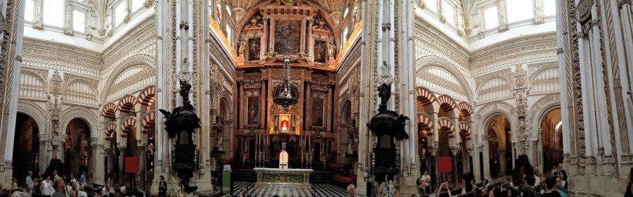 Mosque of Cordoba, Spain panorama