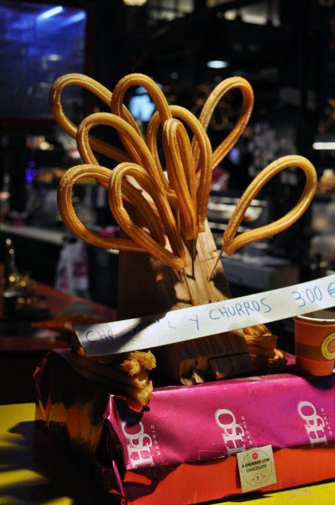 Madrid for Foodies: Churros in Mercado de San Miguel | Wanderwings.com