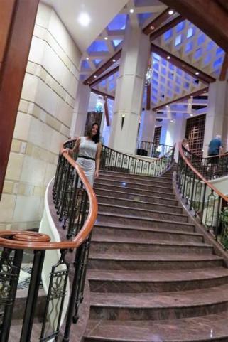 sheraton imperial staircase