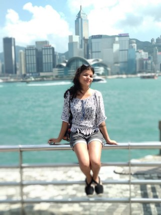 chilling at victoria harbour