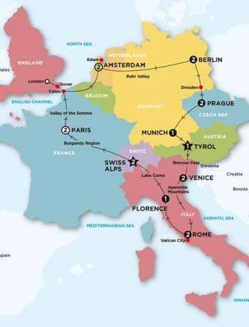 contiki european whirl