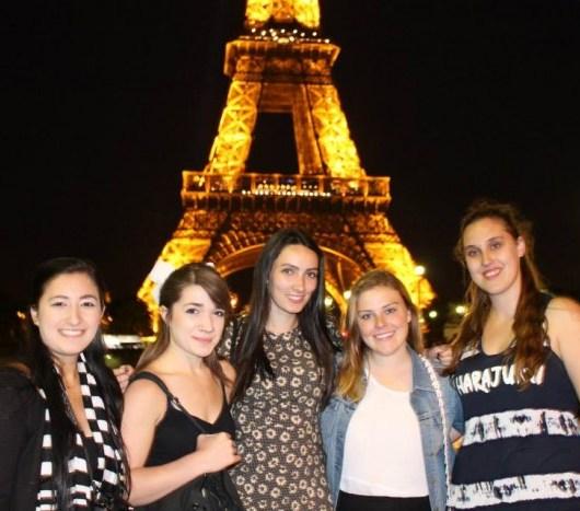 Paris contiki girls 2015