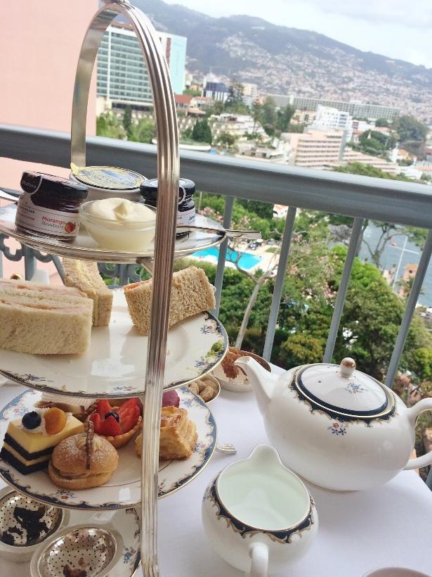 belmond reids palace afternoon tea