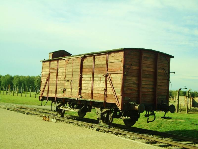 Birkenau train carriage