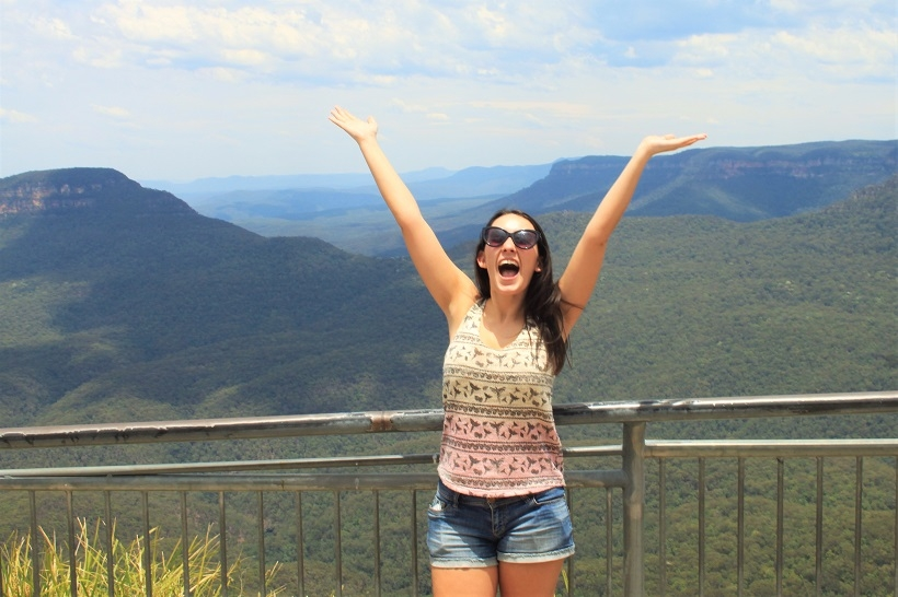 Blue Mountains happy