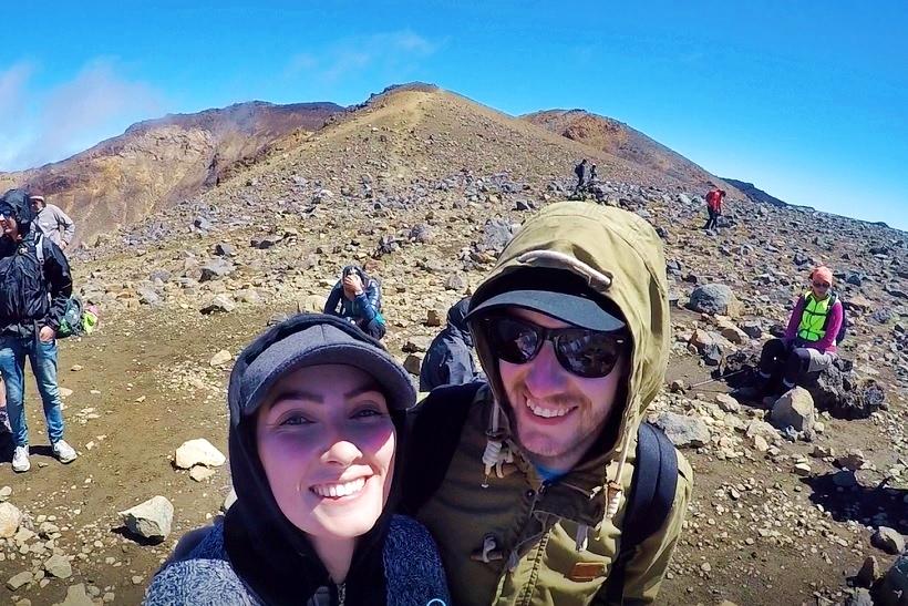 Tongariro Crossing easy to do
