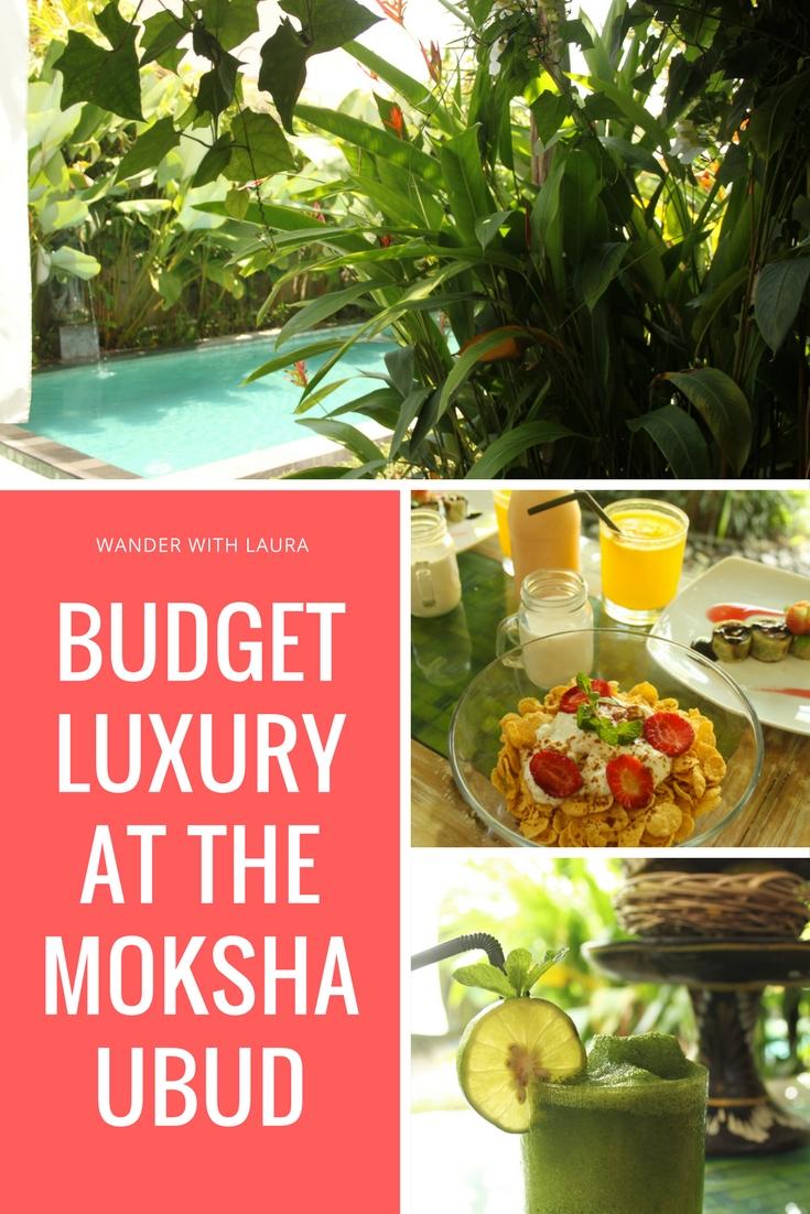 Budget Luxury at The Moksha Ubud | Wander with Laura