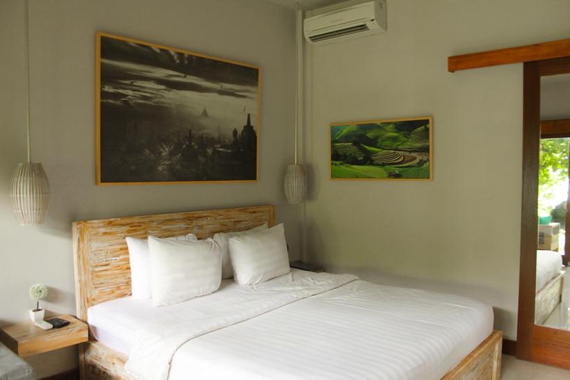 The Moskha Ubud bedroom