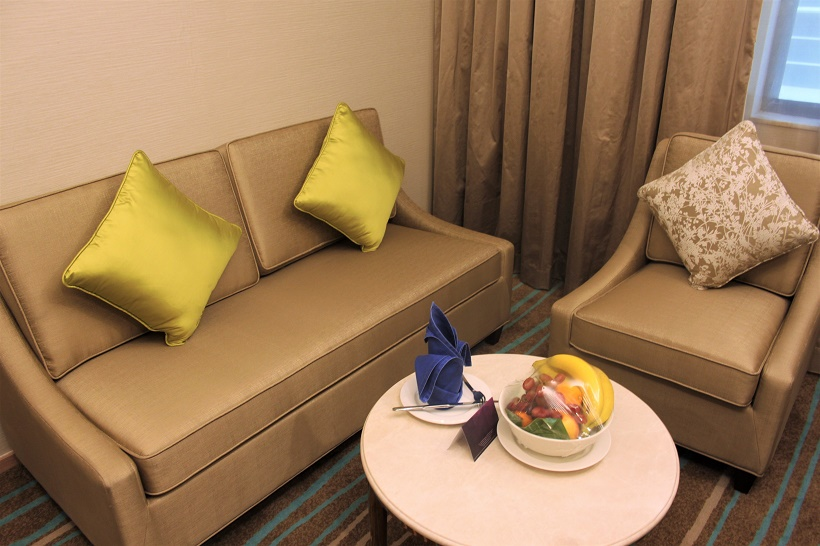 Cosmo Hotel KL suite lounge