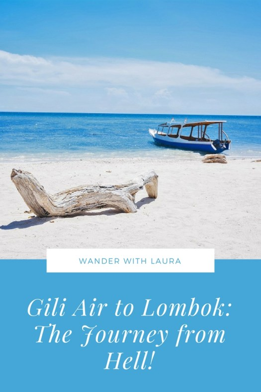 How to get from Gili Air to Lombok