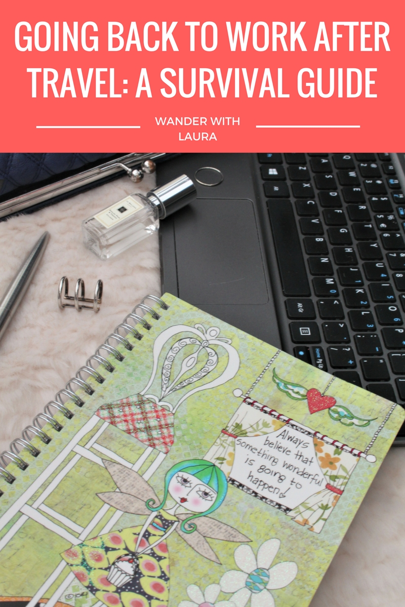 GOING BACK TO WORK AFTER TRAVEL: A SURVIVAL GUIDE | Wander with Laura