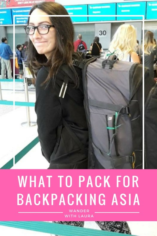 What to pack for backpacking South East Asia | Wander with Laura