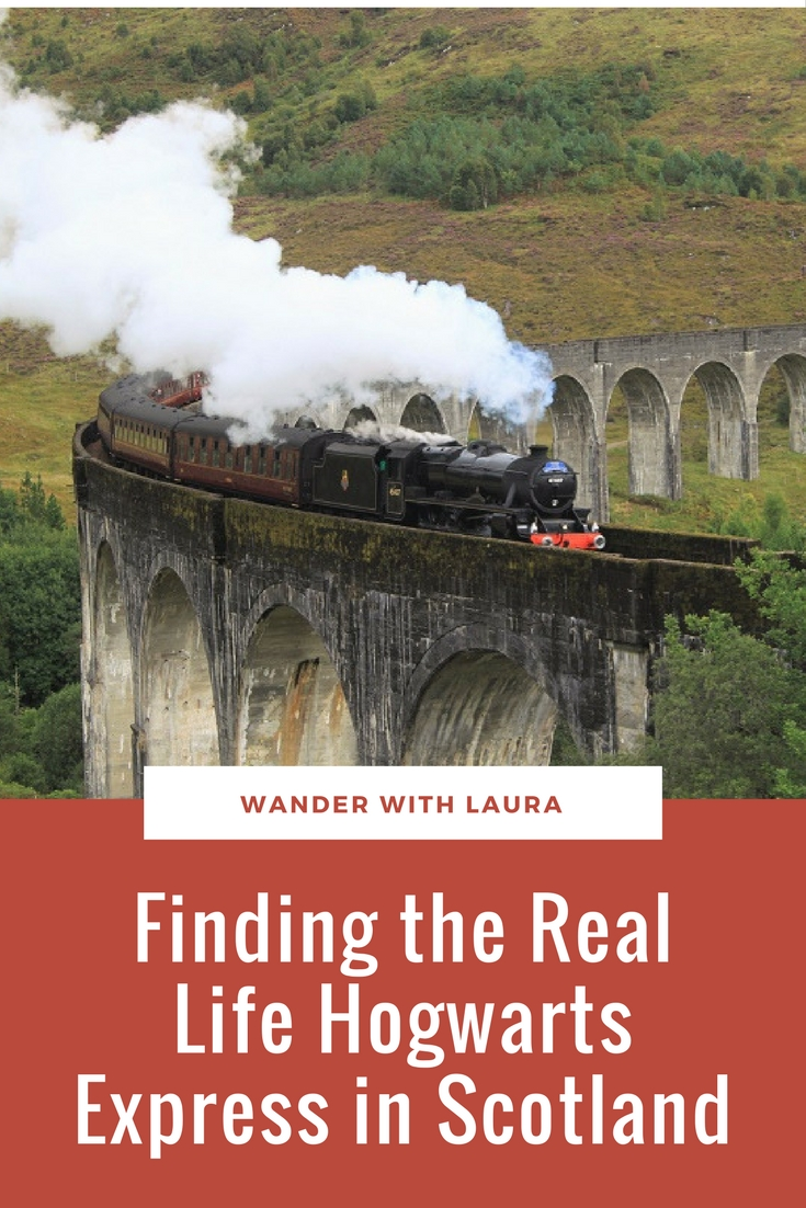 Finding the Real Life Hogwarts Express in Scotland | Wander with Laura