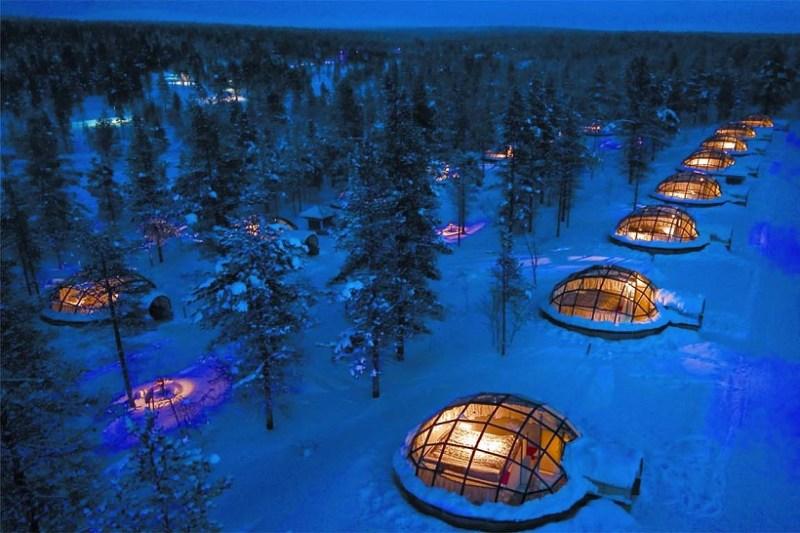 Kakslauttenen Arctic Resort