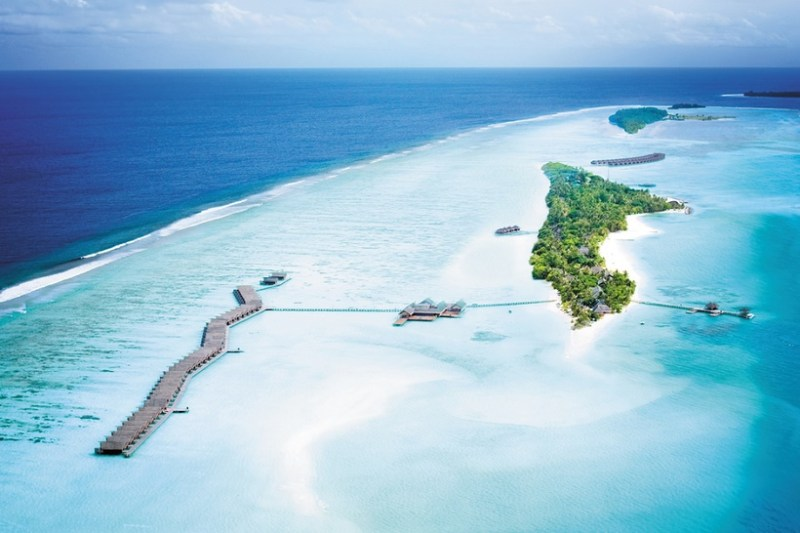 Lux Ari South Atoll from Above