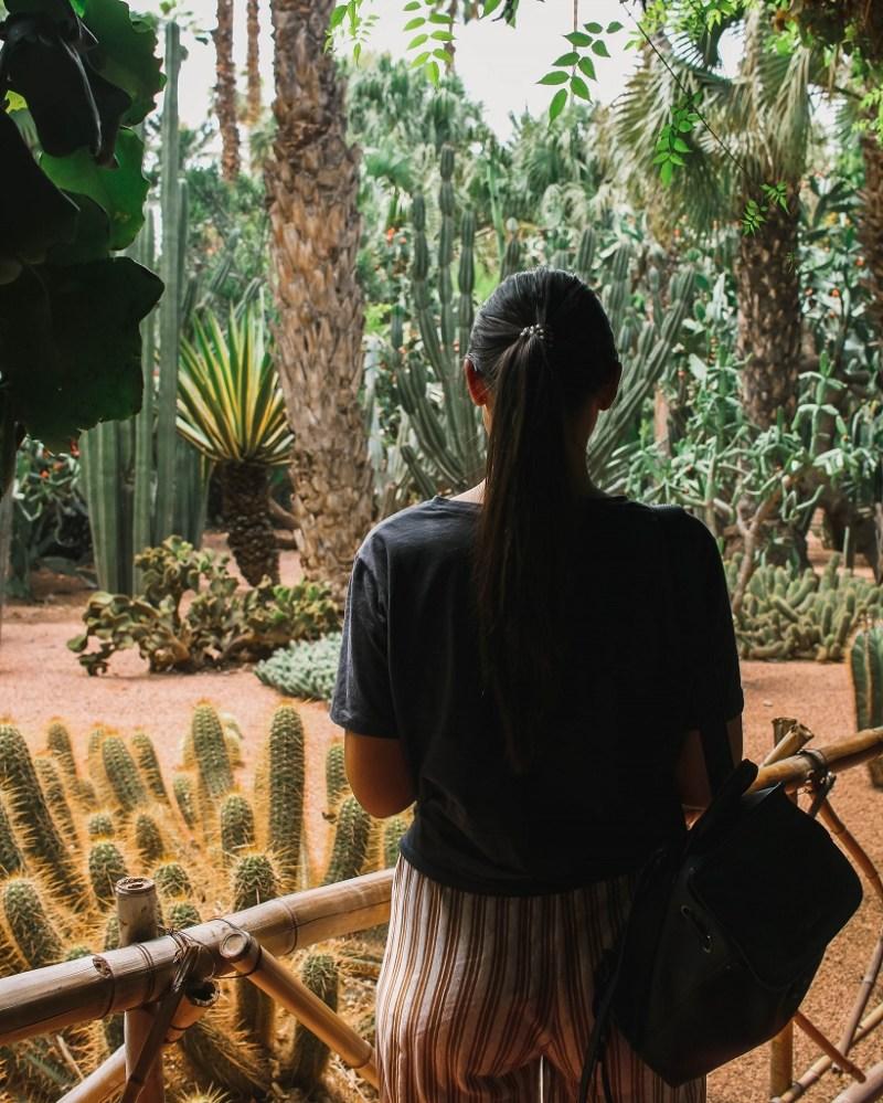 Girl in Marrakech