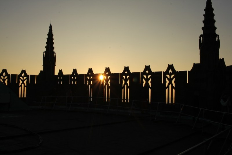 Liverpool Cathedral sunset