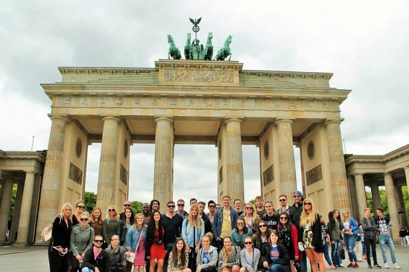 Contiki group tour Europe