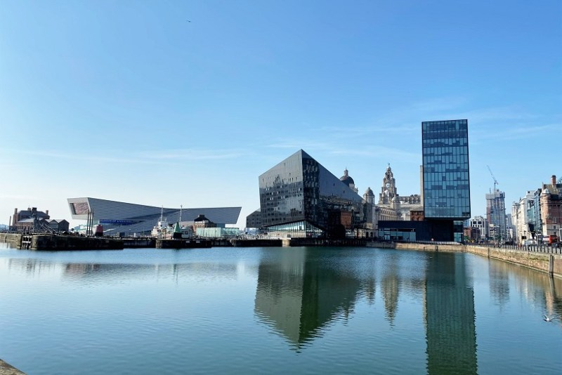 Liverpool docks in lockdown