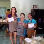 Thai cooking school graduates