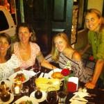 Tracy, Melissa, Juniper and Rebecca