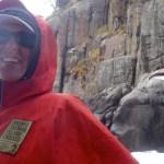Freezing with the seals on the Tasman Peninsula