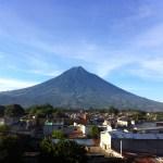 Antigua rooftop view