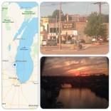 Sunset in Milwaukee, WI