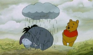 Eeyore under Cloud - wander with melissa